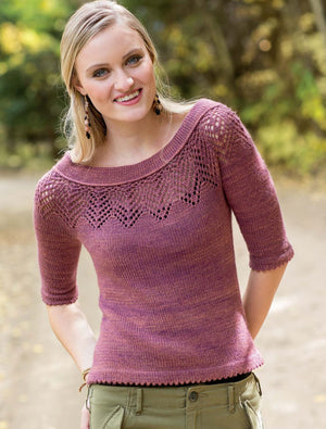 New Lace Knitting: Designs for Wide Open Spaces by Romi Hill