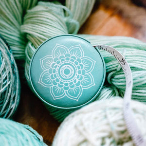 Knitter's Pride - Mindful Collection Teal Tape Measure