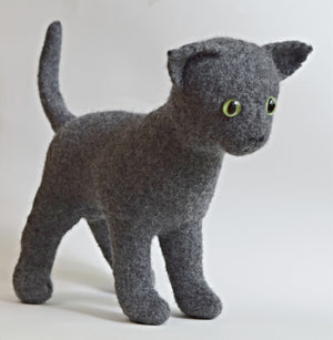 Pierre the Cat by Cynthia Pilon Designs