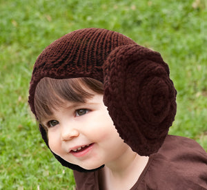 Princess Leia Hat by Amanda Kaffka