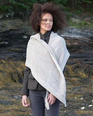 Raina Shawl by Andrea Mowry - Gift Set with Making No. 4 / Lines