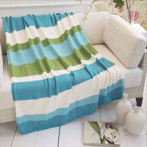 Striped Throw by Sandi Prosser