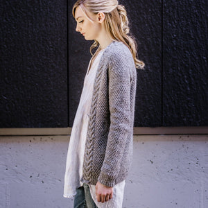 West End Cardigan by Hannah Fettig - Gift Set with Texture Book