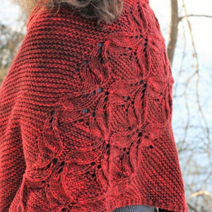 Winter Cardinal by Fogbound Knits NEW COLORS!