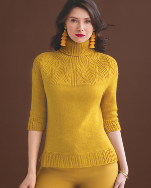 Yoked Pullover by Norah Gaughan