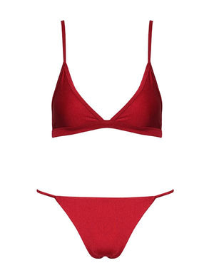 Venice Two Piece Set Burgundy