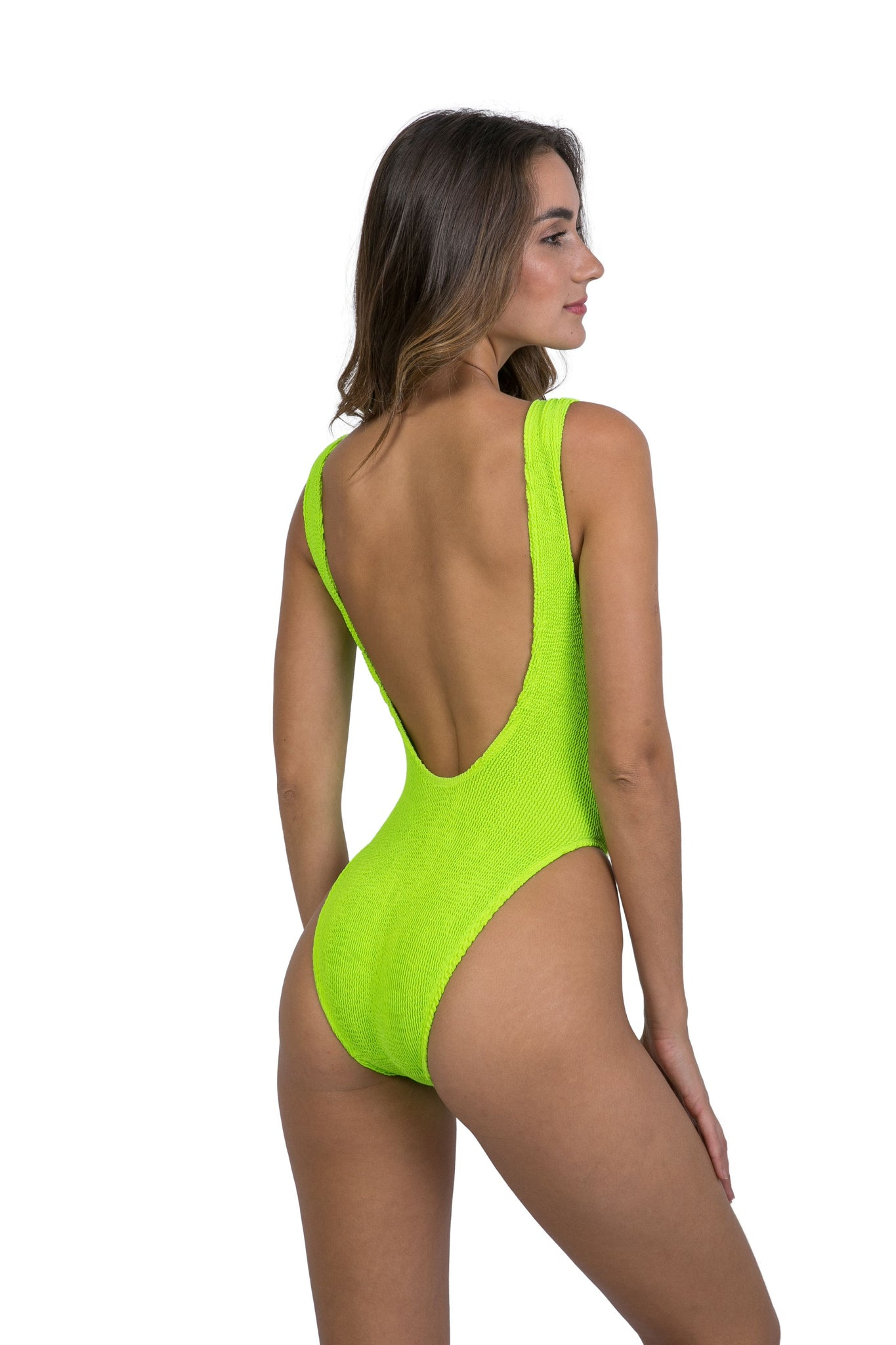 Marbella One Piece Neon Lime