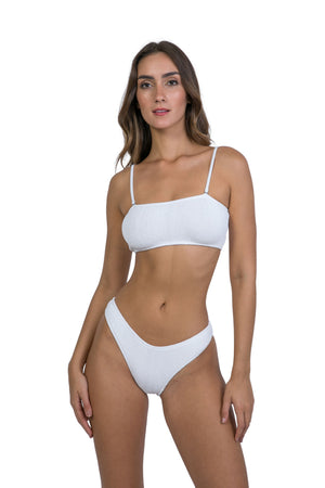 Turk and Caicos Top in White