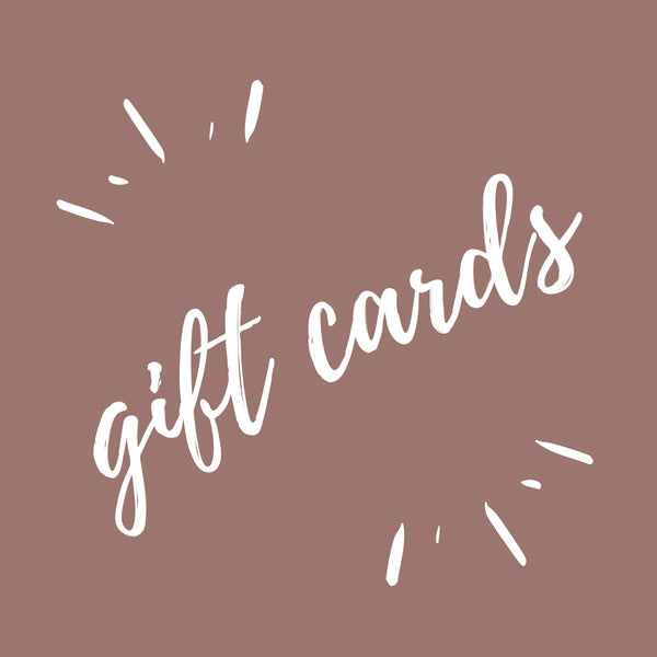 Thistle + Reed Gift Cards