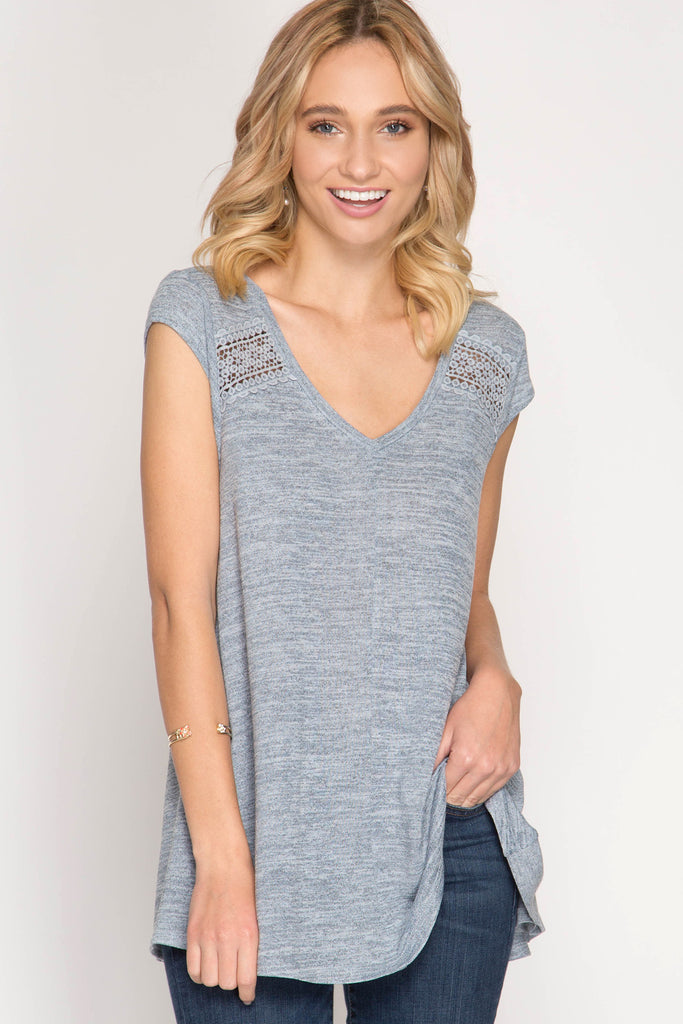 55a0e96426 lace trim tee – Thistle + Reed Mobile Boutique