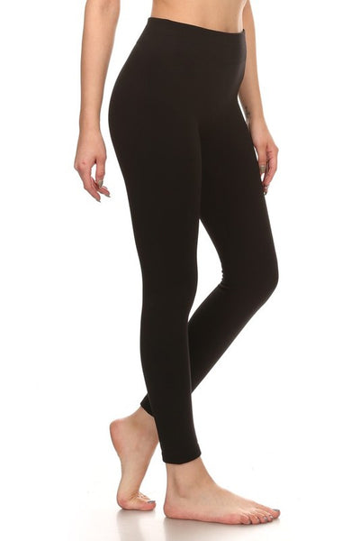 seamless fleece lined legging