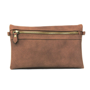 kate saddle crossbody clutch