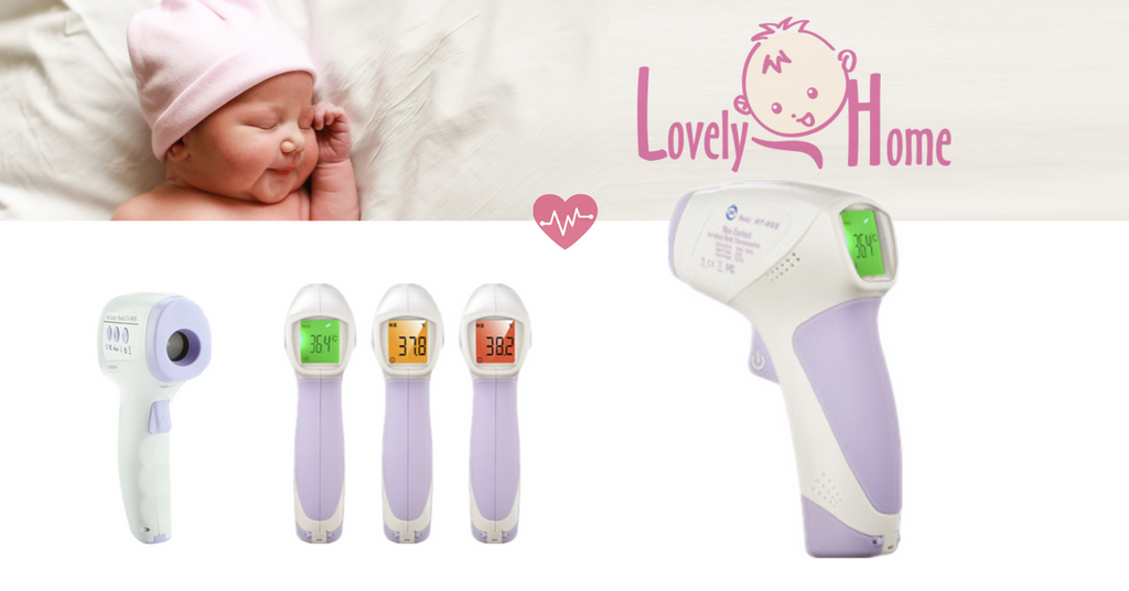 Never Overlook a Baby Fever  <br>-- Baby Infrared Forehead Thermometer 101