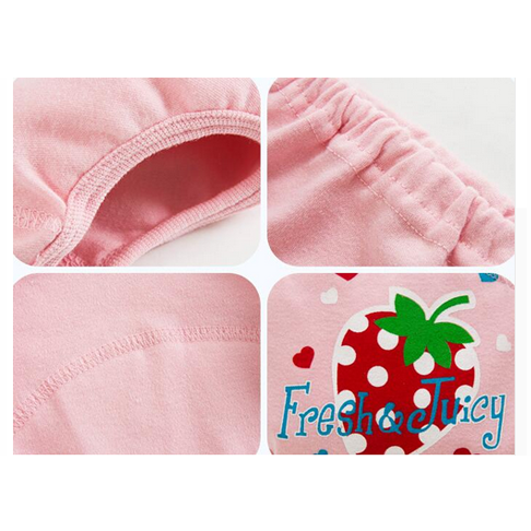 4 Layers Waterproof Baby Training Pants Potty Panties Newborn Infant Diapers Reusable Nappies 4 pcs