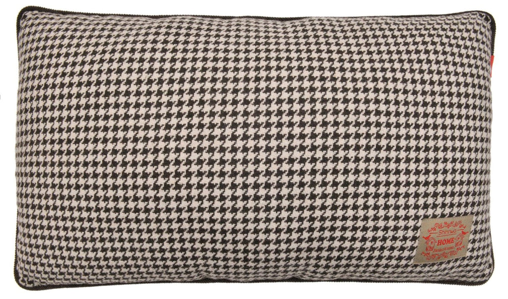 Wool Polyester Houndstooth Decorative Throw Pillow Case - Lovely Home