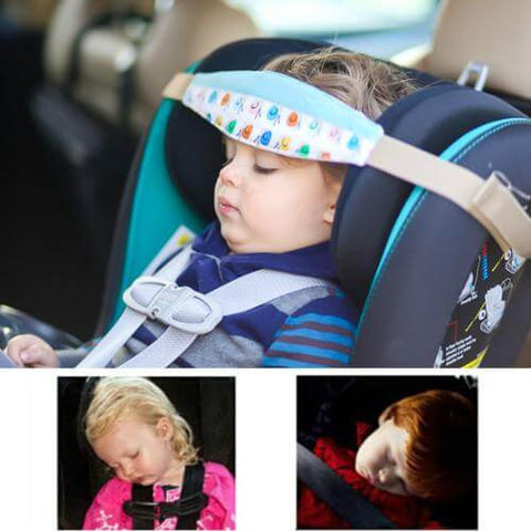 car seat sleeping support,sleeping head support, kids falling asleep in car