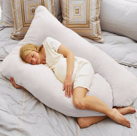 U Shaped Body Pregnancy Pillow for Pregnant Woman - Lovely Home