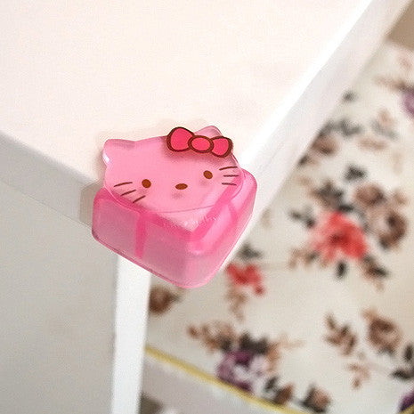 Baby Safe Corner Protector Baby hello kitty silicone Table Desk Corner Guard Children Safety Edge Guards