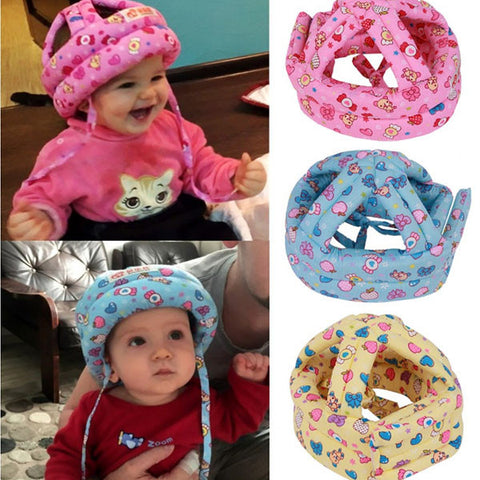 Toddler Baby Soft Head Security Protection Hats - Kiddie Whimsy