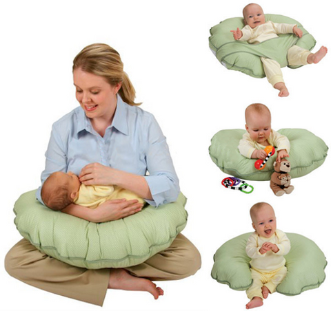 Multifunction Nursing Pillow Cuddle-U Breastfeeding Pillow - Lovely Home