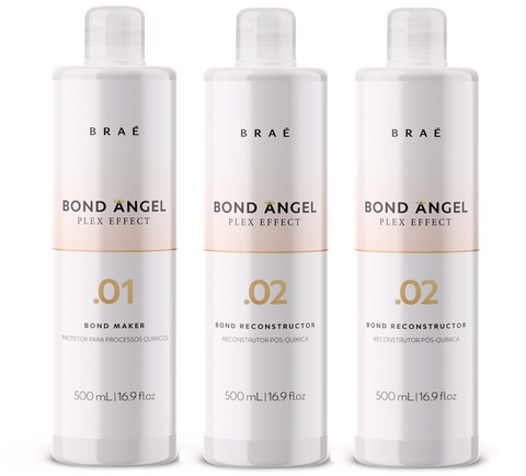 Bond Angel Professional Set (Steps 1, 2, 2) 16,9 fl.oz - BRAE USA Home Care Step 3
