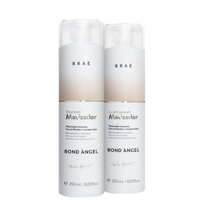 Bond Angel Toning Blonde Balance Shampoo and Acidificante pH Matizador Home Set  8.5 fl.oz - BRAE USA Home Care Step 3