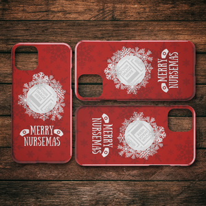 Merry Nursemas - Personalized iPhone Case