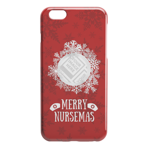 Image of Merry Nursemas - Personalized iPhone Case