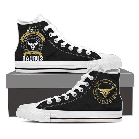 Image of Taurus - Women's High Top Shoes
