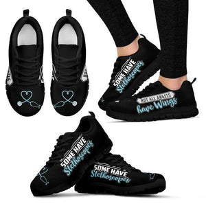 Angels Have Stethoscopes Sneakers -  Sneakers - EZ9 STORE