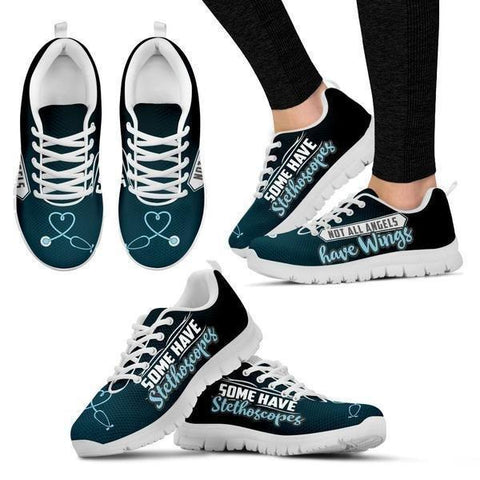 Image of Angels Have Stethoscopes Sneakers -  Sneakers - EZ9 STORE