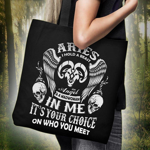 Image of Aries Tote Bag -  Tote Bag - EZ9 STORE