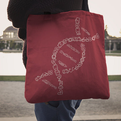 Image of Being A Nurse Is In My DNA Tote Bag -  Tote Bag - EZ9 STORE