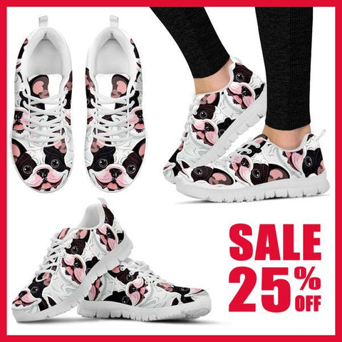 Image of Bulldog Lover Sneakers -  Sneakers - EZ9 STORE