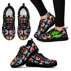 Chameleons Pattern Sneakers -  Sneakers - EZ9 STORE