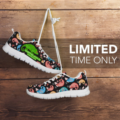 Image of Chameleons Pattern Sneakers -  Sneakers - EZ9 STORE