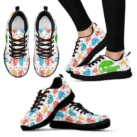 Image of Chameleons Patterns Sneakers -  Sneakers - EZ9 STORE