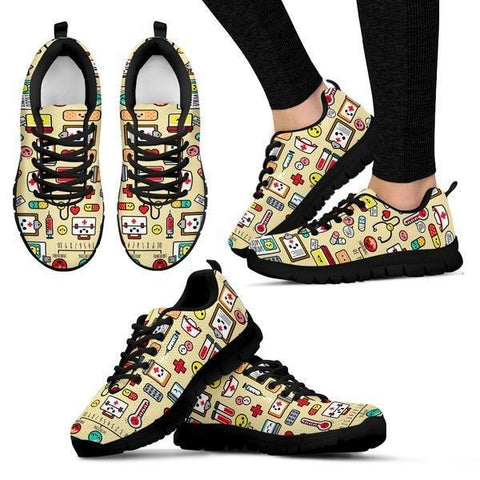 Image of Cute Nurse Sneakers -  Sneakers - EZ9 STORE