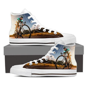 Cycling High Top Canvas Shoes -  High Top Canvas Shoes - EZ9 STORE