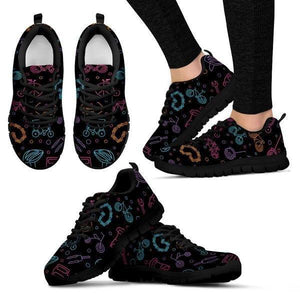 Cycling Pattern Sneakers -  Sneakers - EZ9 STORE