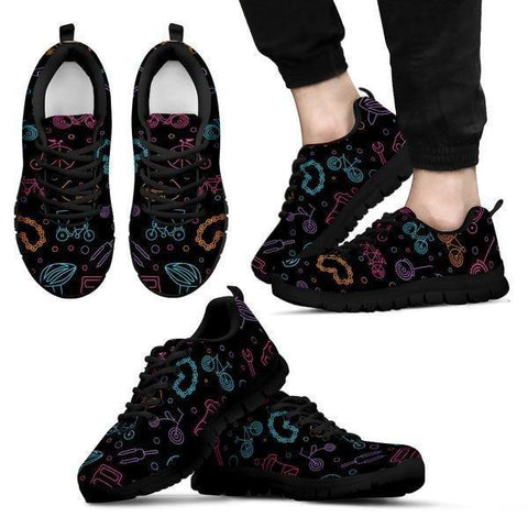 Image of Cycling Pattern Sneakers -  Sneakers - EZ9 STORE