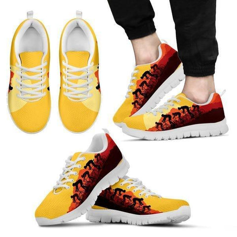 Cycling Sunset Sneakers -  Sneakers - EZ9 STORE