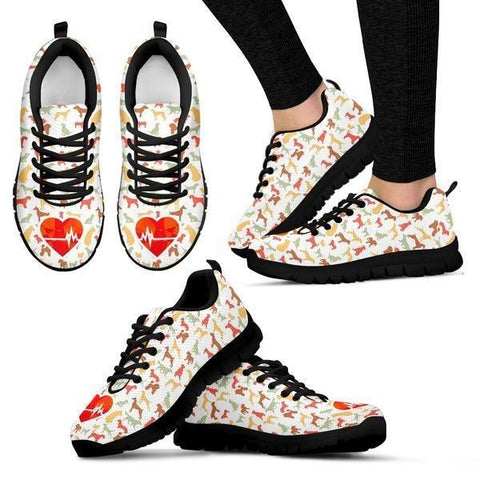 Image of Dogs Changed My Heartbeat Sneakers - Sneakers - EZ9 STORE