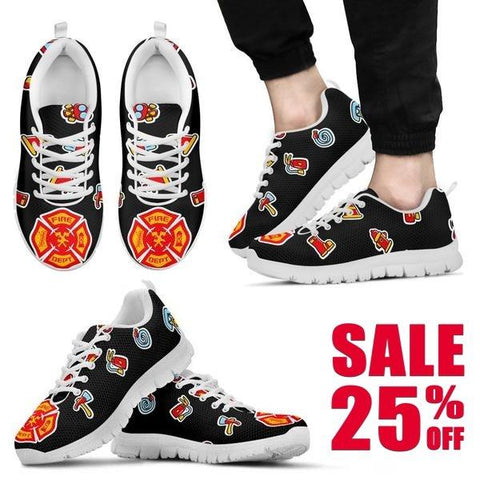 Image of Firefighter Sneakers -  Sneakers - EZ9 STORE