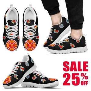 Firefighter Sneakers -  Sneakers - EZ9 STORE