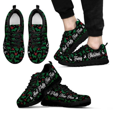 Image of Furry Christmas And Fluffy New Year Sneakers -  Sneakers - EZ9 STORE