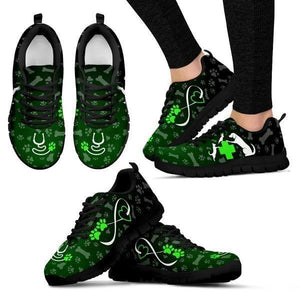 Heart Of Veterinarian - Green Sneakers -  Sneakers - EZ9 STORE