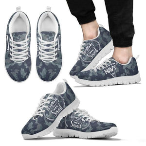 Honoring All Who Served - Navy Sneakers -  Sneakers - EZ9 STORE