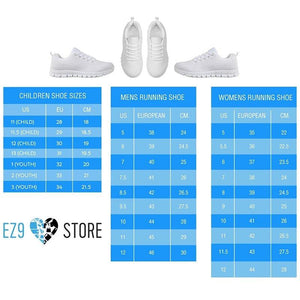 Never Underestimate The Power Of A Nurse Sneakers -  Sneakers - EZ9 STORE