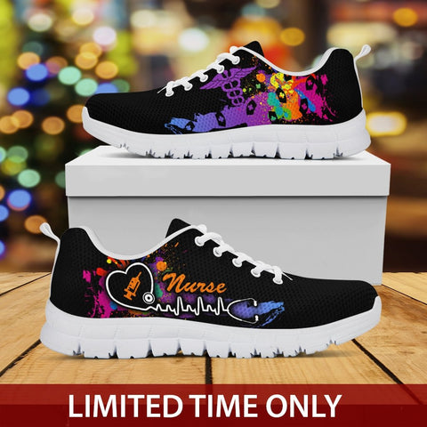 Image of Nurse Colorful Sneakers - Sneakers - EZ9 STORE